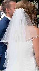 kleidersack brautkleid hochzeitskleid xs weiß inkl reifrock schleier mit swarowski