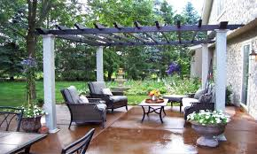 stone patio ideas on a budget part and design small backyard plus