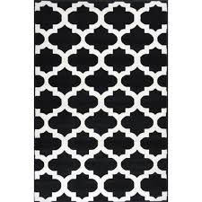 Black And White Modern Rug Bright Modern Rugs Retro Funk Cloud Black White Free Shipping