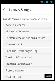 christmas greeting song gift android apps on google play