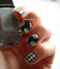 thanksgiving nail art tutorial 60 beautiful gingham style nail art design ideas