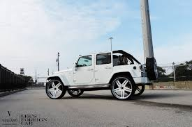 car jeep white jeep wrangler white vellano wheels tuning cars wallpaper