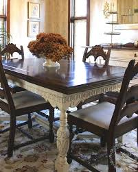 vintage dining room table and chairs painted furniture dining room