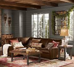rustic livingroom furniture pottery barn living room ideas rustic pottery barn living rooms