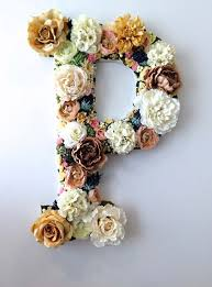 Home Decor Initials Letters Best 25 Flower Letters Ideas On Pinterest Letter Nursery