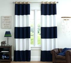 Brown And White Striped Curtains Navy Striped Curtains Icedteafairy Club