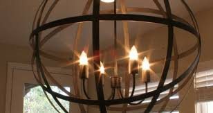 Orb Ceiling Light Wrought Iron Chandeliers Rustic Display Product Reviews For