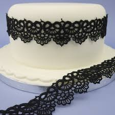 ribbon lace black lace cake ribbon black lace cake ribbon