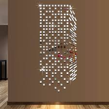 mirror mosaic background wall stickers home decor diy creative mirror mosaic background wall stickers home decor diy creative environmental protection