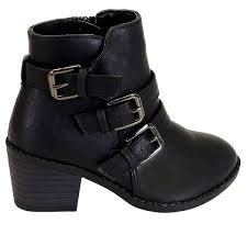 womens steel toe boots target footwear pretty black ankle boots with buckles for