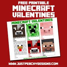 minecraft valentines just peachy designs printable minecraft valentines