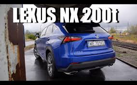 test drive 2015 lexus nx200t lexus nx 200t eng test drive and review youtube