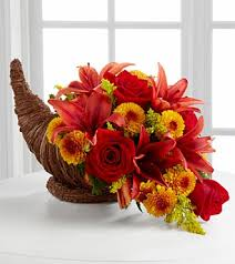 cornucopia centerpiece thanksgiving flowers killeen tx