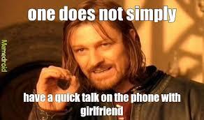 Talking On The Phone Meme - talking endless meme by forever available memedroid