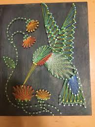 arte string ano novo arte nova string art craft and diy