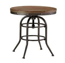 bisque round end table american home furniture store and
