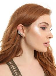 climber earrings harry potter golden snitch climber earrings hot topic