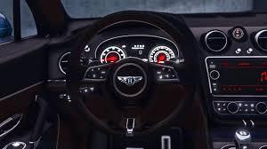 bentley steering wheel at night 2017 bentley bentayga startech add on tuning analog digital