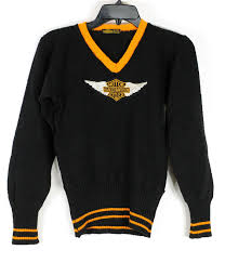 sold on ebay vintage harley davidson sweater from the 1930 u0027s