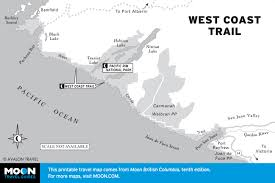 Usa West Coast Road Trip Maps by Printable Travel Maps Of British Columbia Moon Travel Guides