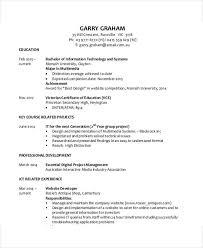 Monash Resume Sample by 35 Resume Templates Free U0026 Premium Templates
