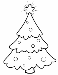 christmas tree coloring pages 6 coloring