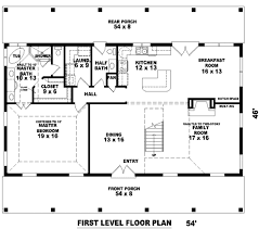 Farmhouse Style Home Plans by Farmhouse Style House Plan 3 Beds 2 50 Baths 2500 Sq Ft Plan 81