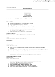 Medical Doctor Resume Example Resume by Physician Resume Resume Example