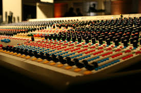 Studio Mixer Desk by Online Mixing Service Music Studio Mixbutton