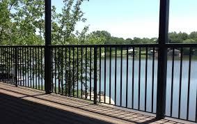 vertical picket railing