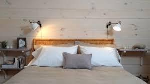 mur de chambre en bois papier peint et habillage de mur sujet