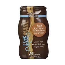 Coffee Magic milk magic caffeniated infusions coffee flavored liquid milk