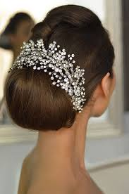 bridal hairstyle magazine 124 best bridal beauty images on pinterest hairstyles marriage