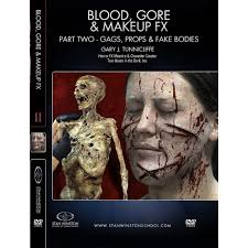 makeup effects school stan winston school dvd blood and makeup effects part 2