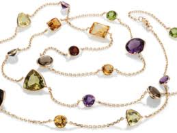 yellow gold gemstone necklace images 53 multi gem necklace gold multi gemstone delicate curved bar jpg