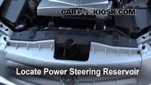2007 cadillac cts 3 6 check power steering level cadillac cts 2003 2007 2006