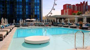 Tour of The New Pool at the Linq Hotel & Casino Las Vegas The