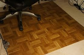 Office Chair Mat For Laminate Floor Fake It Frugal Diy