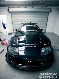 cambered supra 1995 toyota supra the dogfight super street magazine