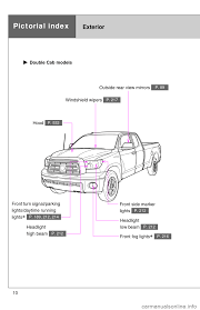 toyota tundra 2011 2 g owners manual
