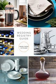 wedding registry gift guide