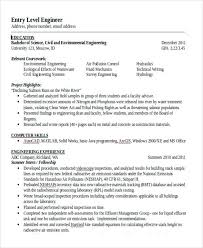 resume template entry level engineering resume entry level engineering resume civil engineering resume templates