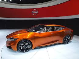 red nissan sports car nissan sports sedan previews the 2015 maxima has attitude in new