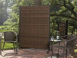 Backyard Screens Outdoor by Portable Outdoor Partitions For Patios Pools And Backyards