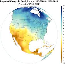 Climate Map Of North America by Transition To A More Arid Southwest