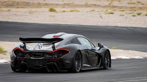 mclaren p1 side view black mclaren p1 rear view hd photo надо купить pinterest