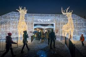 christmas lights arlington tx enchant in arlington texas is the largest christmas light maze in