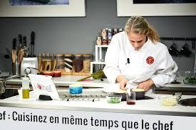 cours de cuisine norbert i chef les cours de cuisine interactifs de l atelier des chefs