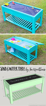 sand and water table with lid how to make a sand and water table