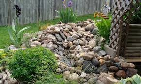 outdoor living beautiful backyard garden with rock garden